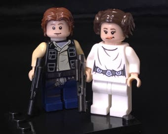Han Leia Star Wars Minifigure Set