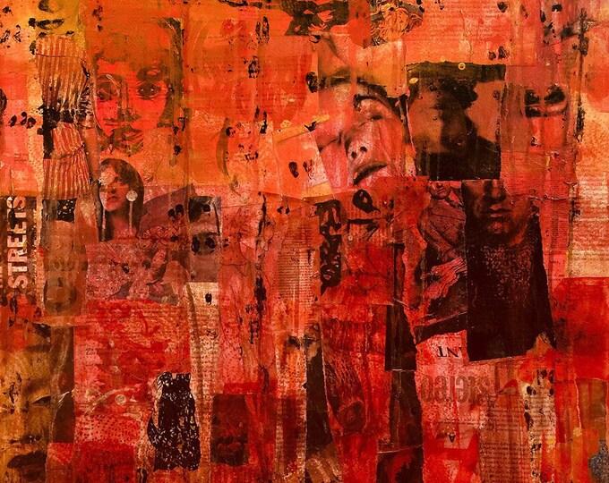 the hong kong jockey club / art print / digital print on photo paper / print from original painting / art lover / wall art / home decor