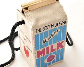Milk Carton Harajuku Shoulder Bag