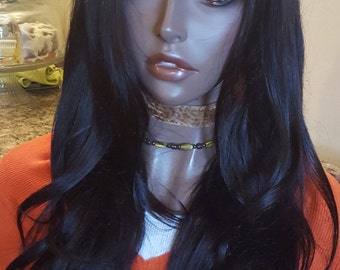 "Virgin Brazilian U part Wig 20"" Human Hair wig Handmade custom made - MIMI"