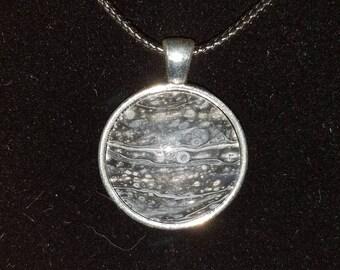 Handmade Circle Pendant Necklace