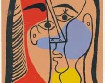 Picasso - Linocut engraving 1978  -e