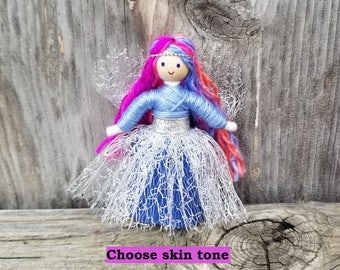 Fairy Doll, Fairy Toys, Rainbow Fairy, Rainbow Baby,  Miniature Fairy Dolls, Tiny Fairy Dolls, Flower Fairy, Fairy Gift