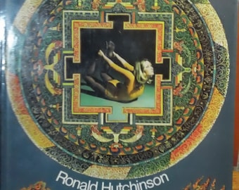 Yoga: A Way of Life by Ronald Hutchinson vintage 1976 hardcover non-fiction Book with Dust Jacket