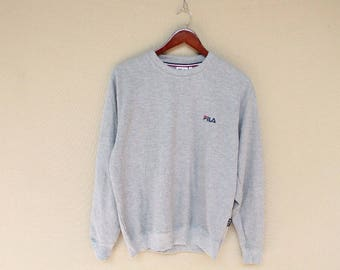 vintage 90 fila sweatshirt fila jacket vintage fila big logo size M