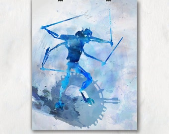 Star Wars Poster. General Grievous. Star Wars Art Print. Star Wars Pop Culture and Modern Home Decor. Gift For Him. Item No.: 111