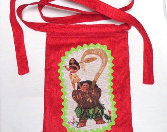 crossbody bag, small crossbody bag, mini shoulder bag, crossbody zipper bag moana, mini cellphone pouch, small travel bag, zipper bag.