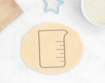Science Cookie Cutter – Beaker Cookie Cutter Science Gift Chemistry Gift Science Cookies Geek Gift Test Tube Erlenmeyer Flask School Teacher