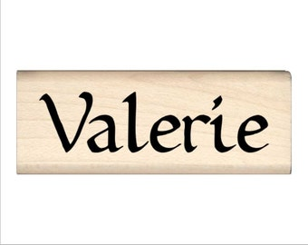 Valerie - Name Rubber Stamp for Kids