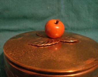 Vintage Chase Copper Vanity Box