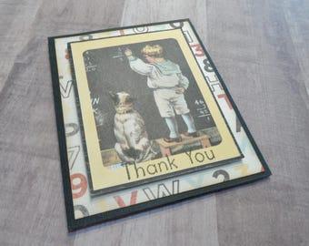 Vintage Teacher Gift Card Holder, Teacher Thank You, Teacher Gift Card, End Of Year Teacher Thank You, Teacher Appreciation