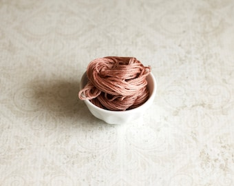 CINNAMON TOAST Classic Colorworks hand-dyed embroidery floss cross stitch thread at thecottageneedle.com