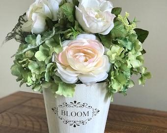 Spring and Summer flower centerpiece