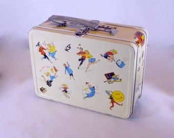 Vintage Ohio Art Co. School Days Lunch Box