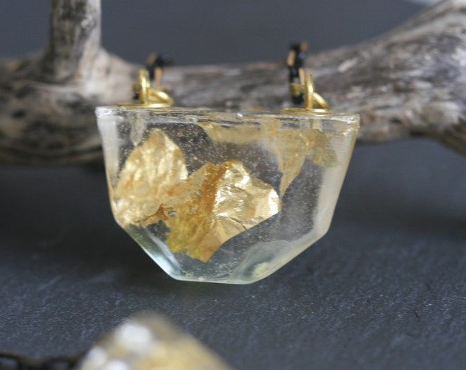 Nautical Irish Seaglass Necklace | Seaglass Jewellery  | Jewelry | Green Seaglass | Beachglass