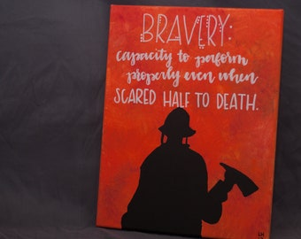 Bravery Canvas