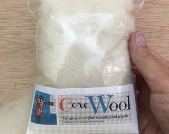 Core Wool for Needle Felting in .5 oz package