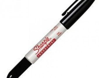 Sharpie Industrial Fine Marker | Metal Stamping Ink  | Jewellery Ink |  Metal Stamping Inking Pen