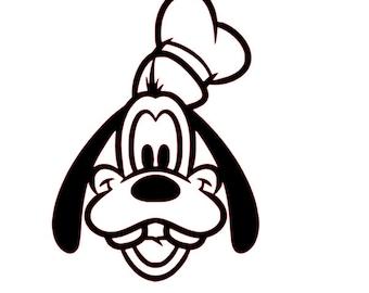 SVG File of Goofy (Disney)