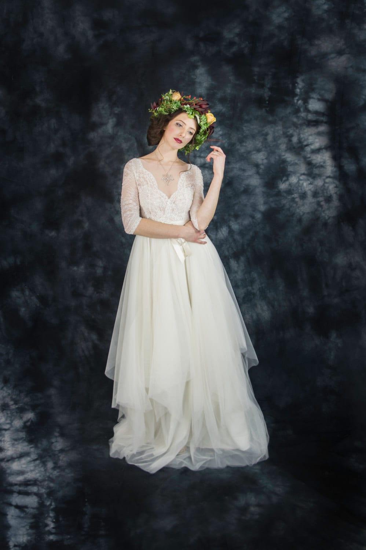 Wedding dress cheap lace