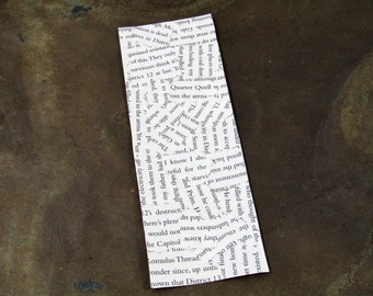 The Hunger Games (Suzanne Collins) YA Bookmarks