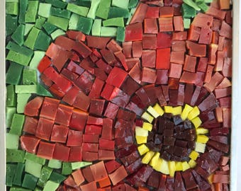 Dahlia mosaic