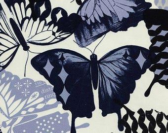 Flutter in Ivory Rayon -Flutter -Melody Miller for Cotton + Steel