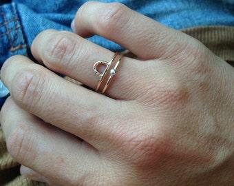 Mini Arc ring