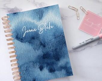 Personalised 2018 2019 Planner ~ Weekly planner ~ 2018 diary ~ Daily planner 2018 ~ 2019 planner ~ Personalised agenda ~ Hoard Pretty Things