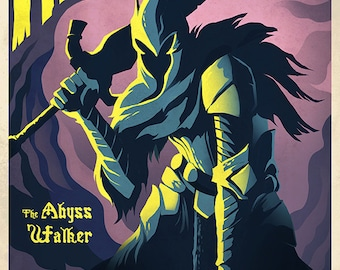 THE ABYSSWALKER Poster