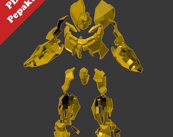 Bumblebee full suit (Pepakura PDO )