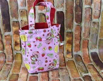 Girls Purse  | Toddler Girls Purse | Toddler Purse | Girls Tote Bag | Cinch Sack | Cinch Bag | Mini Tote Bag