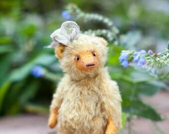 Artist teddy bear, teddy bear, mohair teddy bear, OOAK bear, Marusya