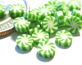 Green Peppermint Candies 20pcs
