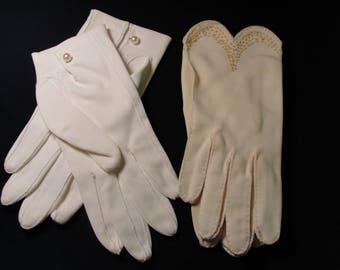 Vintage Ladies Formal Gloves - 2 Pr