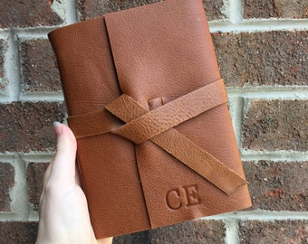 Custom Mother's Day Gift, Personalised Leather Diary Lined Journal for Women / Men, Leather Gifts for Her, Custom Monogram Journal Notebook