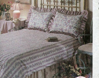 Free Us Ship McCall's 4403 Bedding Pillow Slip Cover for folding Chairs Uncut slipcovers Sewing Pattern uncut