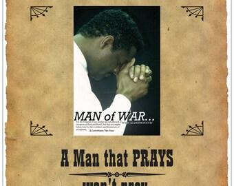 Praying Man won't prey POSTER