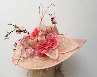 "SALE ""PEARL"" Peach Perfection Hat (reg 500)"