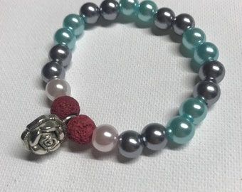Roses are Red Essential Oil Bracelet