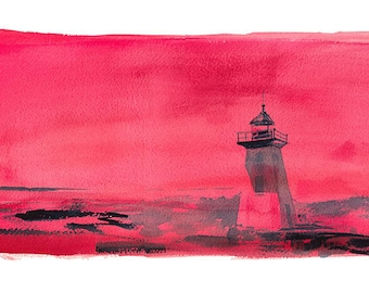 Red Light Limited Edition Fine Art Print