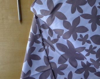GLIMMA Lotta Jansdotter for Windham Marby Grey Flannel-colored- Half Yard - Modern Quilting Sewing Craft Cotton Fabric