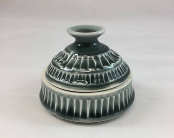 Fluted Salt Box