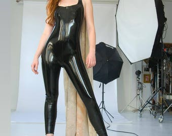 Latex Tank Suit