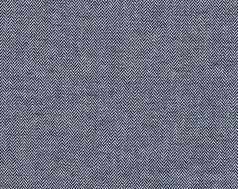 Chambray Union INDIGO (CCCX-14113-62) - 1/2 Yard - Robert Kaufman