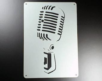 Stencil microphone Retro Music microphone-BE10