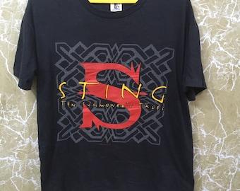 Vintage 90s Insane Clown Posse hip hop Tshirt hip hop tee black colour L size VLj0LhX
