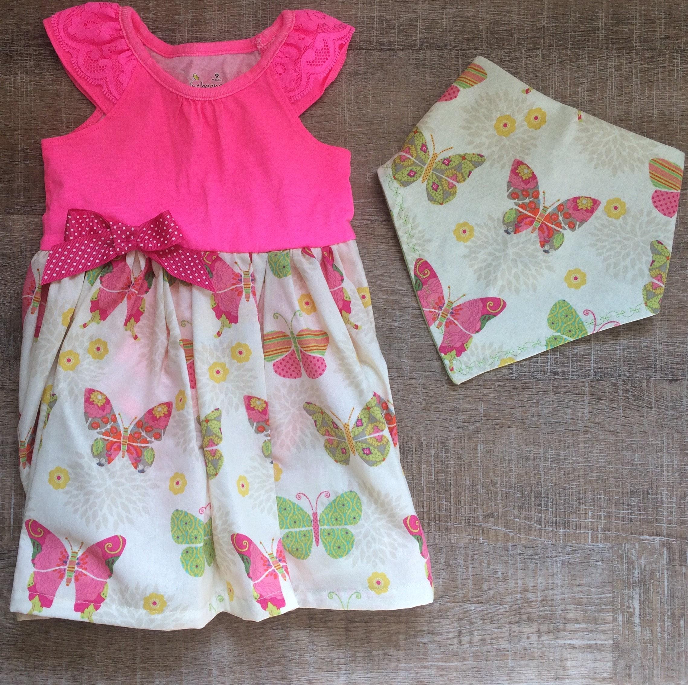 Butterfly dress 6 9 month summer dress 9 month sundress