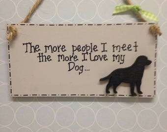 Mini plaque to show your love for your fur babies.