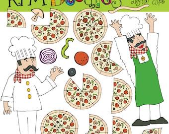 Rafa's Pizza time Digital Clip art